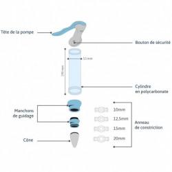 Pompe à érection manuelle - Vacuum Manual Erection System Medintim