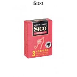 3 préservatifs extra fins pour des sensations au plus proche de relations sans préservatif.