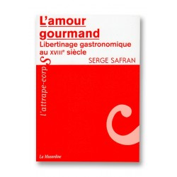 L'amour gourmand - livre