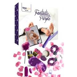 Coffret d'accessoires coquins - Fantastic Purple
